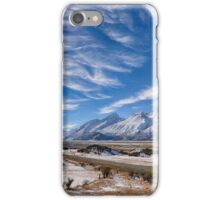 Road to Mt Cook iPhone Case/Skin