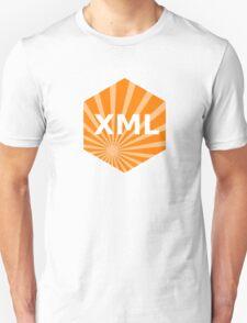 xml programming language hexagonal hexagon sticker Unisex T-Shirt