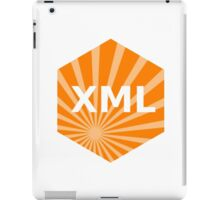 xml programming language hexagonal hexagon sticker iPad Case/Skin