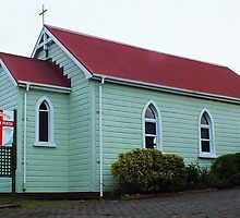 St Stephen's Anglican Church Whangarei NZ by sandysartstudio