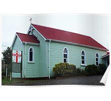 St Stephen's Anglican Church Whangarei NZ Poster