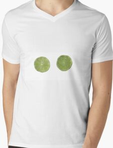 Limes Mens V-Neck T-Shirt