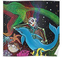 Rainbow Mermaid Poster