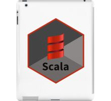 scala programming language hexagonal hexagon sticker iPad Case/Skin