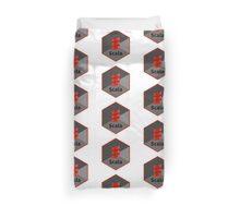 scala programming language hexagonal hexagon sticker Duvet Cover