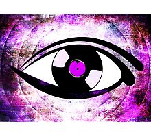 Eye Heart Vinyl (I Love Vinyls) Modern Conceptual Art Vinyl Records Music Photographic Print