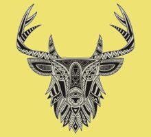 Ethnic Deer Kids Tee