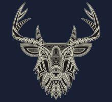 Ethnic Deer One Piece - Short Sleeve