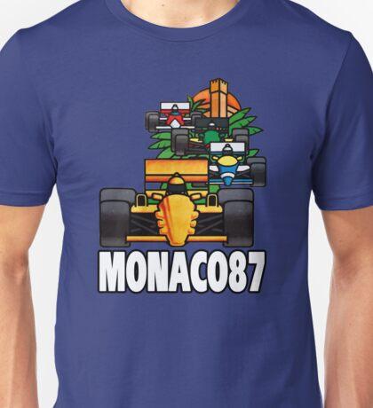 1987 MONACO GRAND PRIX Unisex T-Shirt