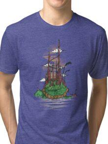 Turtle City Tri-blend T-Shirt