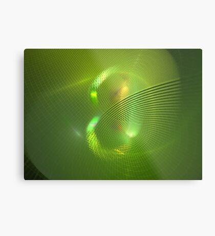 Green Eight Metal Print