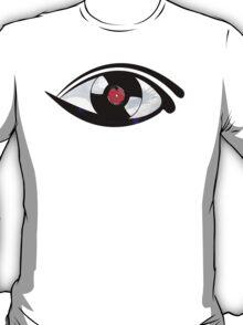 Eye Heart Vinyl (I Love Vinyls) Modern Conceptual Art Vinyl Records Music T-Shirt