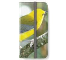 Prothontary Warbler iPhone Wallet/Case/Skin
