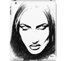 Woman's face iPad Case/Skin