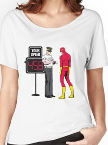 FLASH SPEED LIMIT ( FUCK THE POLICE ) Women's Relaxed Fit T-Shirt