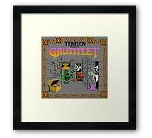 GAUNTLET ARCADE GAME Framed Print