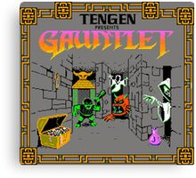 GAUNTLET ARCADE GAME Canvas Print