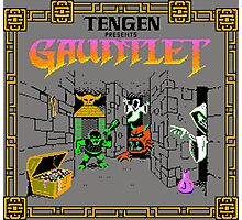 GAUNTLET ARCADE GAME Photographic Print