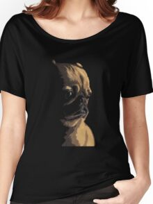 Sad Pug Women's Relaxed Fit T-Shirt