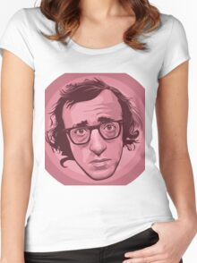 "Heywood ""Woody"" Allen 2 Women's Fitted Scoop T-Shirt"