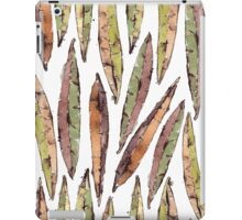 Watercolor Willow Leaves Pattern iPad Case/Skin