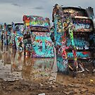The Cadillac Ranch by John  Kapusta