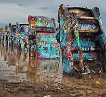 The Cadillac Ranch by John  Kapusta