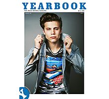Yearbook Fanzine #6 back cover Photographic Print