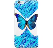 Chloe Price - partner in time (blue butterfly) iPhone Case/Skin