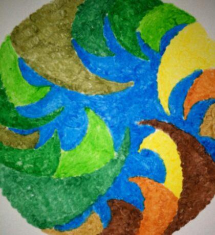 Prayer for the Earth Mandala Sticker
