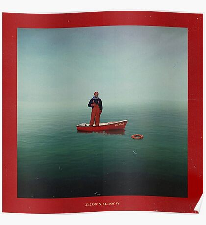 Lil Yachty & His Boat Poster