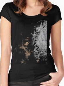 Crystals vertical Women's Fitted Scoop T-Shirt