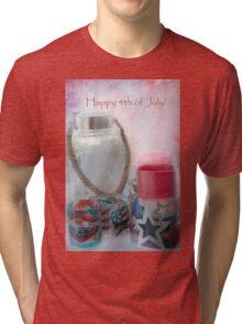 Happy 4th of July Tri-blend T-Shirt