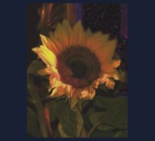 Sunflowers for Madonna One Piece - Short Sleeve