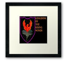 Kingdom of the Rising Winds Framed Print