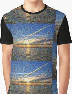 DeepDream Pictures, Landscapes Graphic T-Shirt