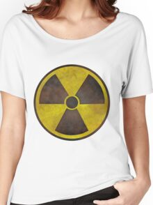 Radioactive Fallout Geek Women's Relaxed Fit T-Shirt