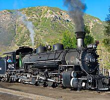 Durango to Silverton Train by Robert Meyers-Lussier