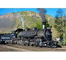 Durango to Silverton Train Photographic Print