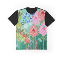 Birds in Paradise Graphic T-Shirt