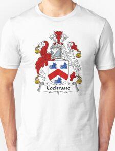 Cochrane Coat of Arms / Cochrane Family Crest Unisex T-Shirt