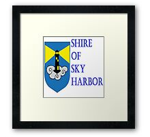 Shire of Sky Harbor Framed Print