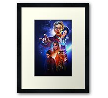 The Capaldi Years Framed Print