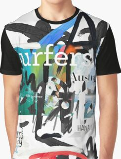Surfers scribble Graphic T-Shirt