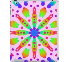 Psychedelic kaleidoscope flower iPad Case/Skin