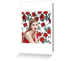 Holland Roden - Teen Wolf - Floral Greeting Card