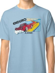 ATARI ENDURO RACING CARTRIDGE LABEL Classic T-Shirt