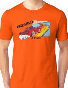 ATARI ENDURO RACING CARTRIDGE LABEL Unisex T-Shirt