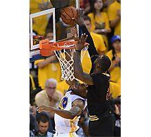 LeBron James Game 7 versus Curry Photographic Print