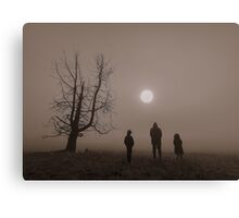sun gazers Canvas Print